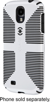 Speck - CandyShell Grip Case for Samsung Galaxy S 4 Cell Phones - White/Black