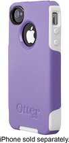 OtterBox - Commuter Series Case for Apple® iPhone® 4 and 4S - Purple