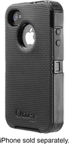 OtterBox - Defender Series Case for Apple® iPhone® 4 and 4S - Black