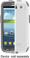 OtterBox - Commuter Series Case for Samsung Galaxy S III Cell Phones - White - White