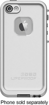 LifeProof - Case for Apple® iPhone® 5 and 5s - White