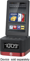 SDI Technologies - FM Alarm Clock Radio for Kindle Fire