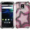 BasAcc - Twin Stars Diamante Case for LG P999 G2X - Twin Star Diamante - Twin Star Diamante