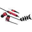 """eForCity - Headset Smart Wrap and Headset Bundle for Samsung Galaxy Tab 3 7""""/8""""/10.1"""" - Black/Red"""