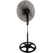 "Lakewood - 16"" Remote Control Stand Fan, Three Speed - Black"