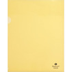 "Sparco - Transparent File Holder - Letter - 8.50"" x 11"" - 10 / Pack - Yellow"