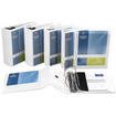"Business Source - Slanted Ring Presentation Binder - 2"" Capacity - 1 Each"