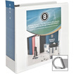 "Business Source - Slanted Ring Presentation Binder - 4"" Capacity - 1 Each"