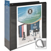 Business Source - Basic D-Ring View Binder - Letter - 8.50