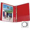 """Business Source - Round Ring Binder - 1"""" Capacity - 1 Each"""