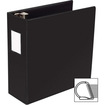 "Business Source - Slanted D-Ring Binder - 4"" Capacity - 1 Each"