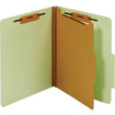 "TOPS - Letter Classification Folder With Divider - Letter - 8.50"" x 11"" - 1 Dividers"