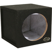 "Absolute USA - SS12 Single 12"" Sealed Subwoofer Enclosure - Black - Black"