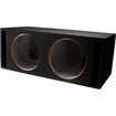 Absolute USA - VEGD15 Dual 15-Inch Slot Ported Subwoofer Enclosure