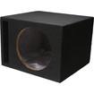 "Absolute USA - VEGS10 Single 10"" Slot Ported Subwoofer Enclosure Box - Black - Black"