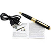 DrHotDeal - Mini Spy Pen Hidden Camera Video Recorder HD Video DVR USB 1280x960 Nanny Cam - Black, Gold