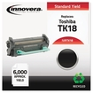 Innovera - Toner Cartridge - Replacement for Toshiba (TK-18) - Black - Black