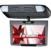 "Farenheit - T910CM 9"" TFT-LCD Widescreen Overhead Flip-Down Car Monitor - Black - Black"