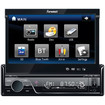"""Farenheit - TID893T Analog TV Tuner 7"""" Flip-Up TFT-LCD Touch Screen Single Din A/V Car Source Unit"""