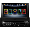 "Farenheit - TI740NB Bluetooth Flip-Out 7"" LCD Touchscreen Car Stereo In-Dash Car Receiver"