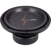 "PrecisionPower - APW12 1,200 Watt 12"" Car Subwoofer - Black"