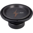 "PrecisionPower - PH12 12"" Dual 2 Ohm Phantom Series Car Subwoofer - Black"