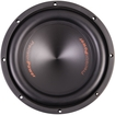"PrecisionPower - SN12 12"" Single 4 Ohm Sedona Series Car Subwoofers - Black"