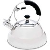 Chef's Secret - 2.75qt T304 Stainless Steel Tea Kettle with Copper Capsule Bottom - Stainless Steel