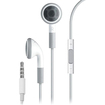 4XEM - Premium Series Apple® Type Earphones With Controller For iPhone/iPod/iPad - White - White