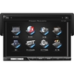 Power Acoustik - DVD MP3 Unit with 7-Inch Touchscreen & TV Tuner - Multi
