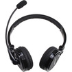 AGPtek - Bluetooth Wireless Boom Mic Noise-Canceling Stereo Headphone for Bluetooth Devices - Black