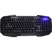 AGPtek - USB Wired Multimedia Illuminated Backlit Gaming Game Keyboard for Laptop PC - Black - Black