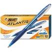 BIC - Atlantis Retractable Pen - Clear