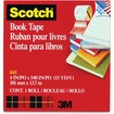 "Scotch - Book Repair Tape, 4"" x 15 yards, 3"" Core - Clear - Clear"