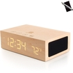 GOgroove - BlueSYNC TYM Bluetooth Stereo Speaker System & Alarm Clock w/Temperature - Multi