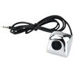 Absolute USA - Cam-520 Ntsc Car Rear View Video Cmos 170 Degree Wide Angle Camera - Chrome - Chrome