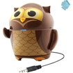 GOgroove - Groove Pal Owl Portable Animal Speaker f/Kids - Works great Phones, iPads, & Children's Tablets - Multi