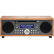 Tivoli Audio - Music System Desktop Clock Radio - Stereo - Cherry, Metallic Taupe - Cherry, Metallic Taupe