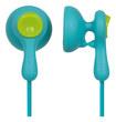 Panasonic - EarDrops Earbud Headphones - Blue