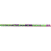 Moon Products - Decorated Wood Pencil, Do Best On Test, HB #2, Green, Dozen - Green