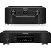 Marantz - SR7007 7.2 Channel Home Theater Receiver & UD7007 3D Universal Disc Player Bundle