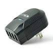 RND Power Solutions - 4 Port USB (3.4A) Wall charger for iPads, iPhones, Tablets, Smartphones. - Black