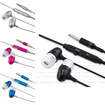 eForCity - In-Ear Headphone Earbud For HTC Evo Shift 4G Sensation Inspire 4G - Black, Blue, Hot Pink, Silver - Black, Blue, Hot Pink, Silver