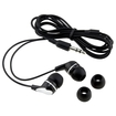 eForCity - Earphone/Headphone/Earbud For ipod Touch 2 3 4 3G 4G - Black