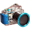 CowboyStudio - 130-Feet Waterproof Underwater Camera Case for Sony NEX-3 18-55mm Lens
