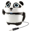 GOgroove - Groove Pal Panda Portable Rechargeable Speaker w/ Dual High-Excursion Drivers & Subwoofer - Multi