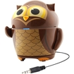 GOgroove - Pal Owl Portable Rechargeable Speaker w/ Dual High-Excursion Drivers & Passive Subwoofer - Multi