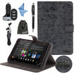 EEEKit - Bundle 5 in 1 for Samsung Galaxy Note 8.0 GT-N5100 Tablet, Portable Protective Stand Case + Stylus