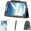EEEKit - Bundle 4 in 1 for Samsung Galaxy Note 8.0 GT-N5100 Tablet, Protective Stand Case + Screen Protector