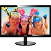"Philips - 24"" LED LCD Monitor - 16:9 - 5 ms - Glossy Black"